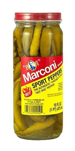 sport peppers Marconi Nutrition info