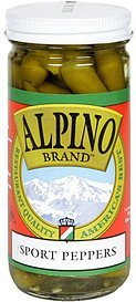 sport peppers Alpino Nutrition info