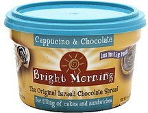 spread cappuccino & chocolate Bright Morning Nutrition info