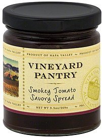 spread smokey tomato savory Vineyard Pantry Nutrition info