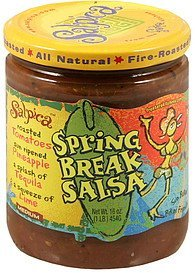spring break salsa medium Salpica Nutrition info
