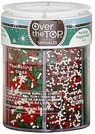 sprinkles holiday happiness mix Over The Top Nutrition info