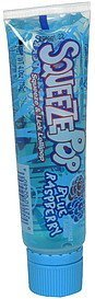 squeeze & lick lollipop blue raspberry Squeeze Pop Nutrition info
