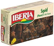 squid in ink sauce IBERIA Nutrition info