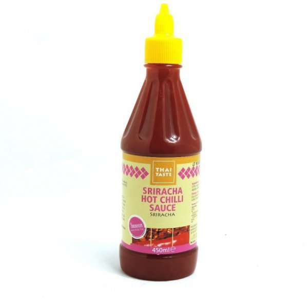 sriracha hot chilli sauce Thai Taste Nutrition info