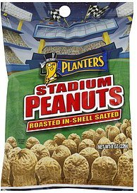 stadium peanuts roasted in-shell salted Planters Nutrition info