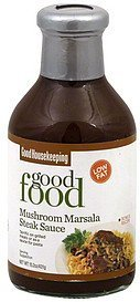 steak sauce mushroom marsala Good Housekeeping Nutrition info
