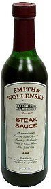 steak sauce Smith & Wollensky Nutrition info