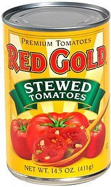 stewed tomatoes Red Gold Nutrition info