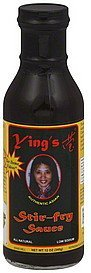stir-fry sauce authentic asian Yings Nutrition info