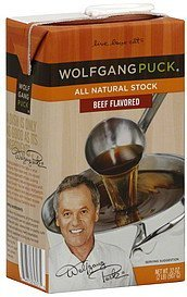 stock beef flavored Wolfgang Puck	 Nutrition info