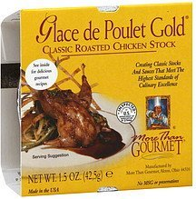stock chicken, classic roasted Glace de Poulet Gold Nutrition info