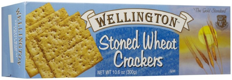 stoned wheat crackers Wellington Nutrition info