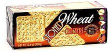 stoned wheat crackers Brownstone Baking Co. Nutrition info