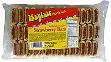 strawberry bars Mayfair Nutrition info