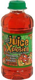 strawberry-kiwi quencher Juice Explosion Nutrition info