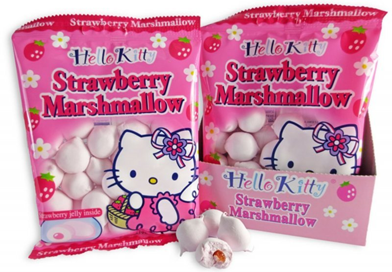 strawberry marshmallow Hello Kitty Nutrition info