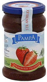 strawberry preserves Pampa Nutrition info