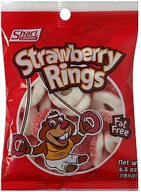 strawberry rings Shari Candies Nutrition info