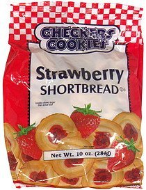 strawberry shortbread Checkers Cookies Nutrition info