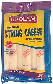 string cheese Haolam Nutrition info