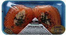stuffed salmon belle mar Sonoma Seafoods Nutrition info