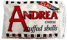 stuffed shells cheese Andrea Nutrition info