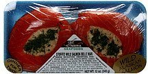 stuffed wild salmon belle mar Sonoma Seafoods Nutrition info