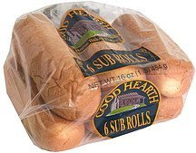 sub rolls Good Hearth Nutrition info