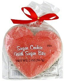sugar cookie with sugar bits Fourstar Group Nutrition info