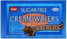sugar free creme wafers chocolate Estee Nutrition info