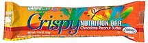 sugar free crispy nutrition bar chocolate peanut butter CarboRite Nutrition info