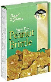 sugar free peanut brittle Regal Dynasty Nutrition info