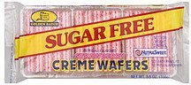 sugar free strawberry wafers Golden Batch Nutrition info