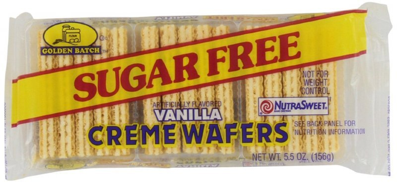 sugar free vanilla wafers Golden Batch Nutrition info