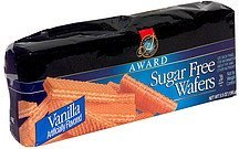 sugar free wafers vanilla Award Nutrition info