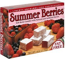 summer berries Liberty Orchards Nutrition info