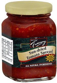 sun-dried tomato spread with roasted garlic Tuscany Nutrition info