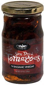 sun dried tomatoes in balsamic vinegar Candoni Nutrition info