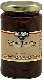 sundried tomatoes Ethnic Delights Nutrition info
