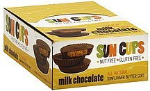 sunflower butter milk chocolate Sun Cups Nutrition info
