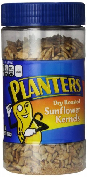 sunflower kernels dry roasted Planters Nutrition info