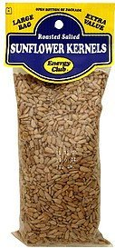 sunflower kernels roasted salted Energy club Nutrition info