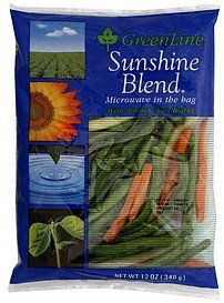 sunshine blend GreenLine Nutrition info