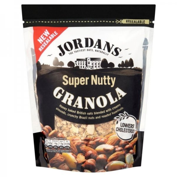 super nutty granola Jordans Nutrition info