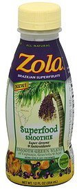 superfood smoothie smooth green blend Zola Nutrition info