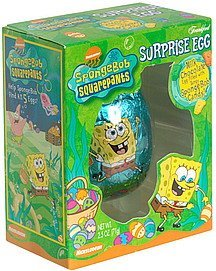 surprise egg spongebob squarepants Frankford Candy & Chocolate Company Nutrition info