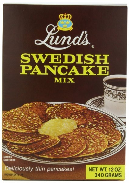 swedish pancake mix Lunds Nutrition info