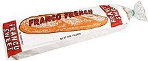 sweet bread Franco Nutrition info