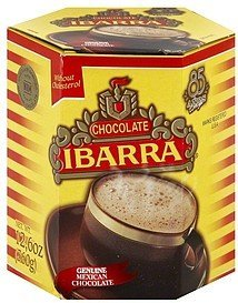 sweet chocolate Ibarra Nutrition info